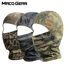 Sport Tactical Camouflage Balaclava Outdoor Full Face Cover Bicycle Hunting Hiking Cycling Airsoft Army Mask Military Liner Cap