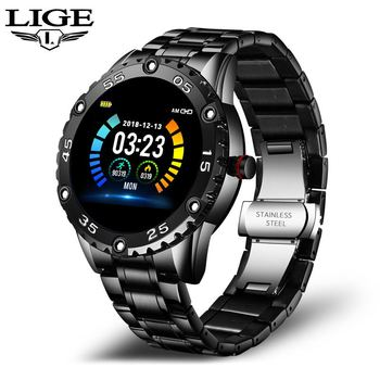 LIGE New Smart Watch men And women Sports watch Blood pressure Sleep monitoring Fitness tracker Android ios pedometer Smartwatch 10
