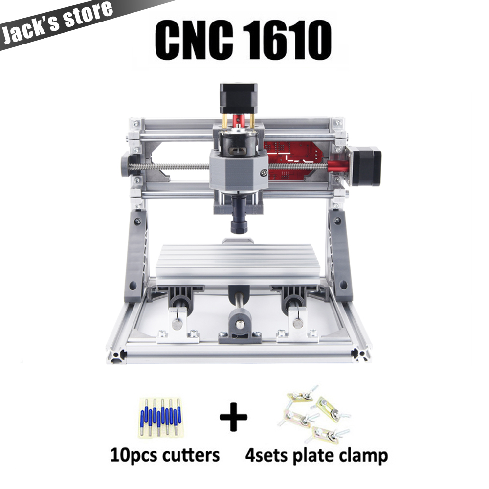 CNC 1610 با ER11 ، دستگاه حکاکی cnc diy ، دستگاه - ماشین آلات نجاری