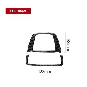 Image 2 - Para bmw f10 f25 x3 f26 x4 série 5 11 17 5gt f07 10 17 luz de leitura do carro de fibra de carbono capa adesivo decalque decorativo acessórios