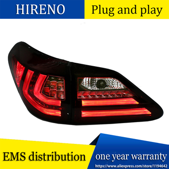 Car Style Tail lamp for LEXUS RX350 RX330 RX270 RX450h LED Tail light Fit 2009-2015 with Sequential Indicator turn light