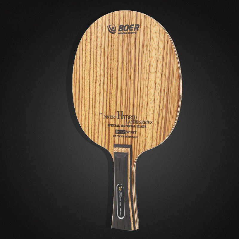BOER 7 Ply Arylate Carbon Fiber Table Tennis Blade Lightweight Ping Pong Racket Blade Table Tennis Accessories High QuantityX