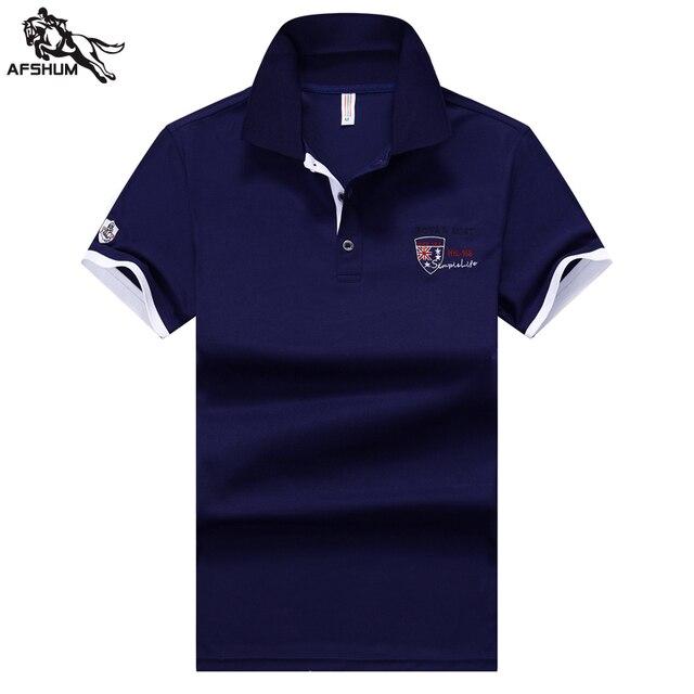 Summer new men polo shirt mens synthetic fiber Fabric mens short-sleeved embroidery polo shirt casual Breathable polo shirt 633 4