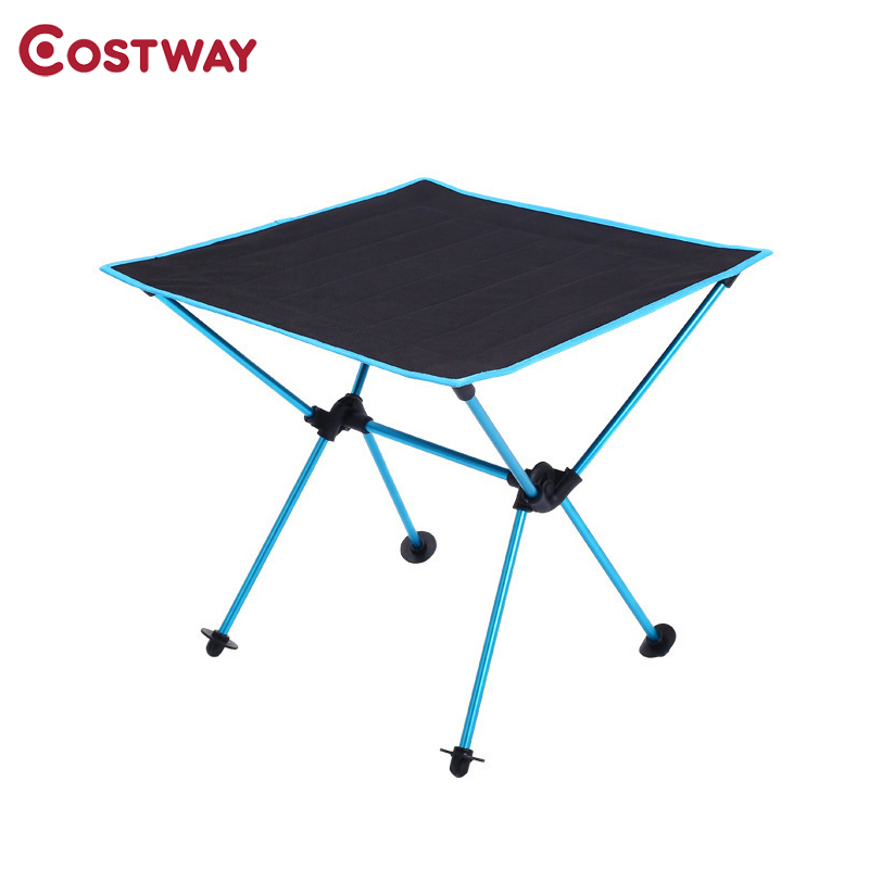 Quailty Portable Table Foldable Folding Camping Hiking Desk Computer Bed Traveling Fishing Outdoor Picnic Alloy Ultra-light