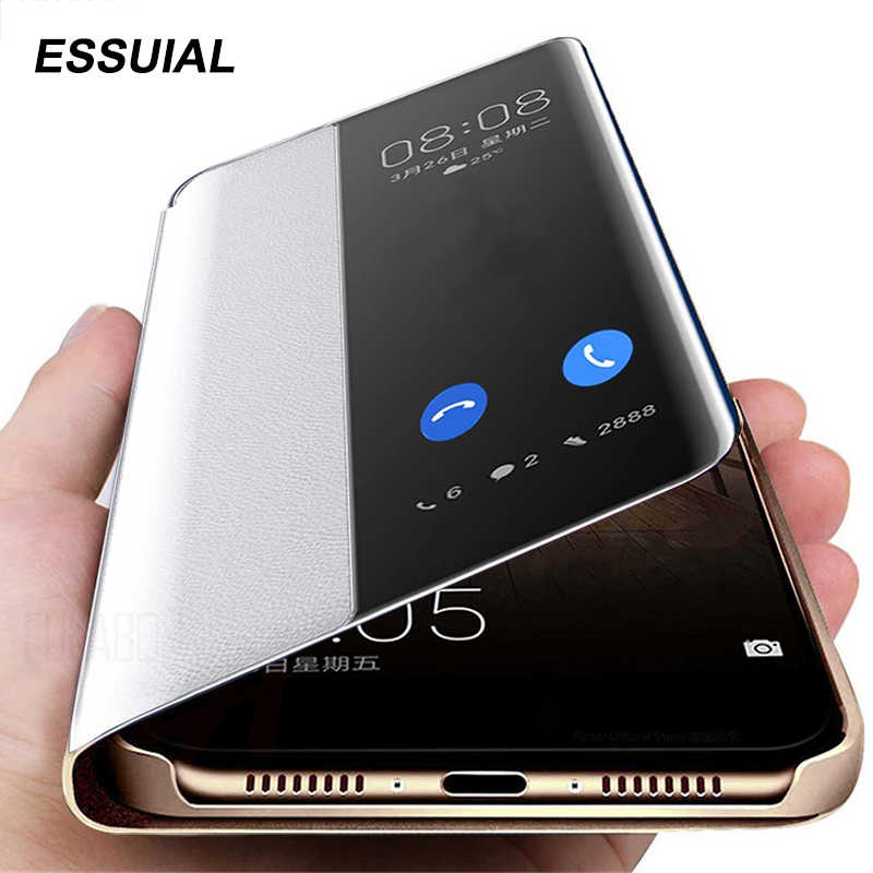 Smart View Telefoon Case Voor Xiaomi Redmi Note 8 7 Pro 8T 8 8A 7 7A Leatehr Flip Case voor Xiaomi Redmi Note 8T 8 7 Pro 8A 7A Cover