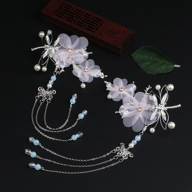 Necklace stainless steel Monsh\u014d dreamy fairytale Asian Bamboo plant