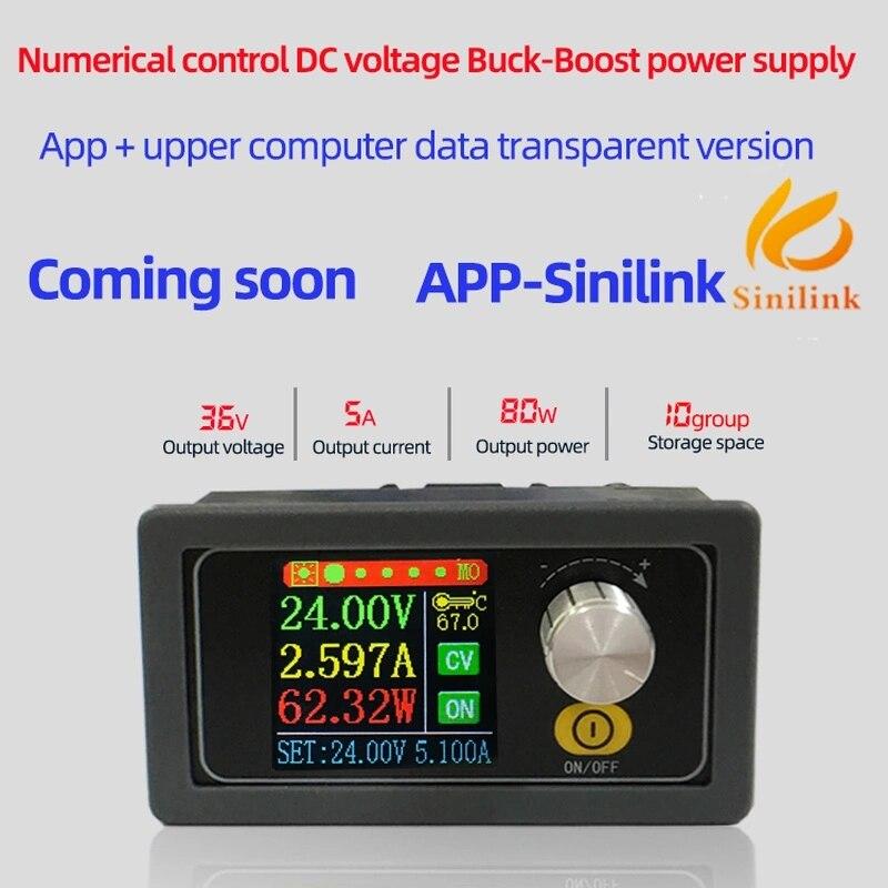 XYS3580 convertisseur de suralimentation CC CC CC CV 0.6-36V 5A Module d'alimentation réglable réglable alimentation de laboratoire Variable