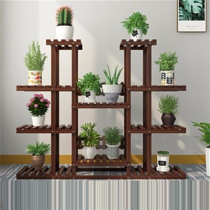 Rak Bunga Wooden Shelves For Ladder Stojaki Na Kwiaty Scaffale Porta Piante Rack Outdoor Stand Balcony Flower Plant Shelf