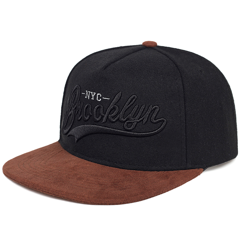 New BROOKLYN Letter Embroidery Baseball Cap Fashion Hip-hop Tide Caps Men And Women Universal Flat Hat Outdoor Sports Sun Hats