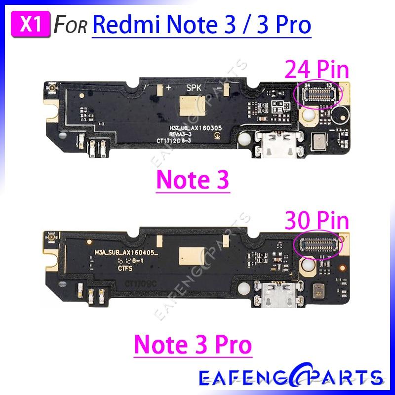 Charger Dock PCB Board For Xiaomi Redmi Note 3 Pro USB Charging Port Flex Cable Connector Ribbon Flex
