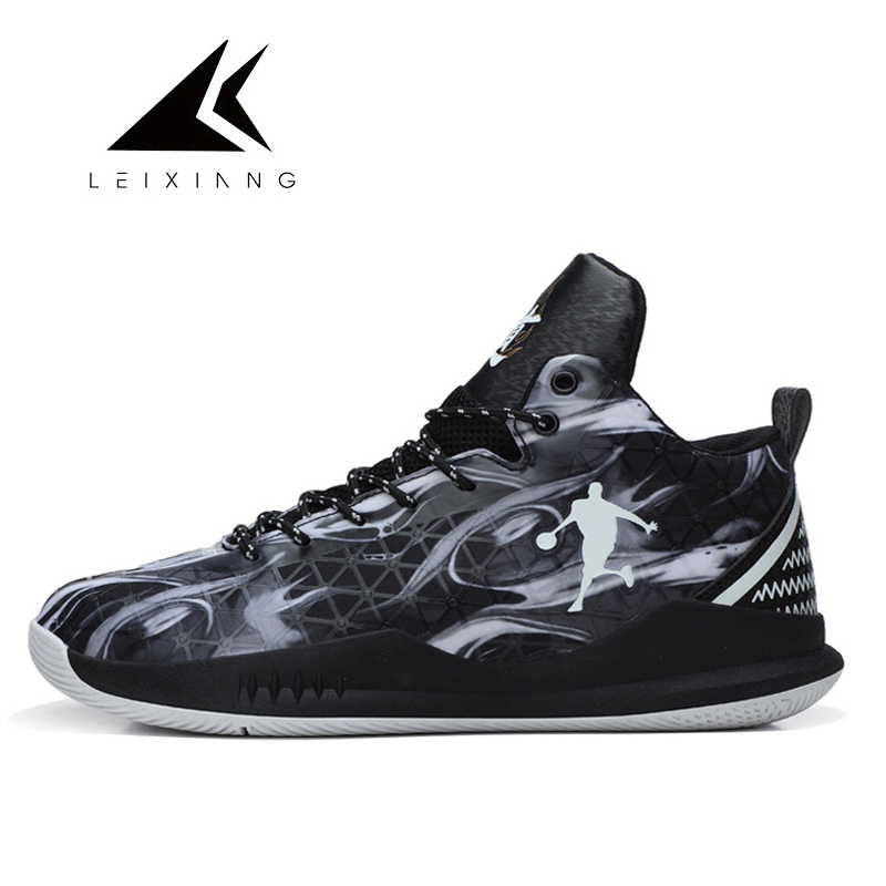 US $26.87 44% OFF Plus Size 37 47 Man Basketball Shoes Jordan Outdoor Sneakers Lace up Athletic Sport Basketball Basket Homme 2018 Spring