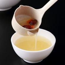 Масляный фильтр ложка кухонный сепаратор для масла и супа пшеничная