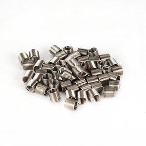 50 шт. резьбовые вставки M5 0,8 2D проволока из нержавеющей стали Helicoil крепежные детали Инструменты для ремонта оборудования набор винтовых вту...