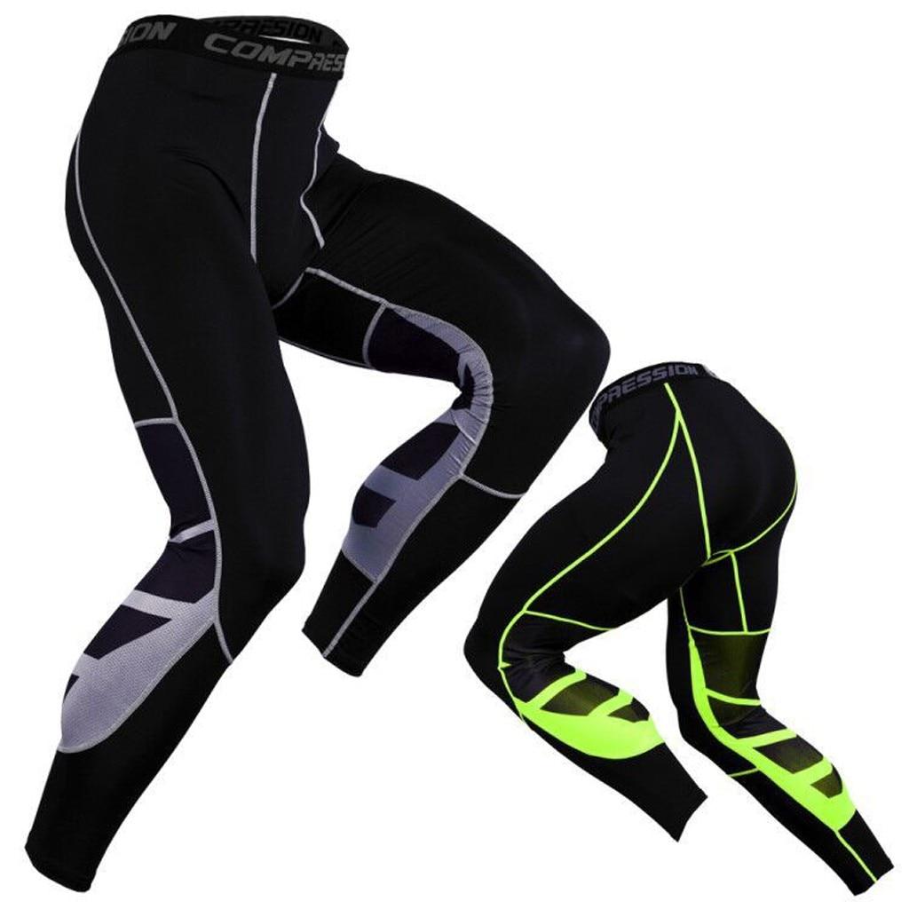Men's High quality Brand Men pants Fitness Casual Elastic Pants bodybuilding clothing casual Letter sweatpants joggers pants #G2