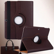 Rotating Tablet PC Holding Rack 10.1inch Tablets PU Leather