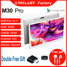 Tablet M30 Pro 10.1 Inch Android 10 IPS 1920×1200 4G Call Network 4GB RAM 128GB ROM Dual Wifi GPS Intelligent Sensors Teclast