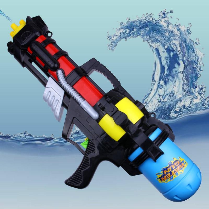 Large Water Splash Pull Water Gun Toy New Children Drifting High Pressure Beach Summer Hot Sale Water Gun