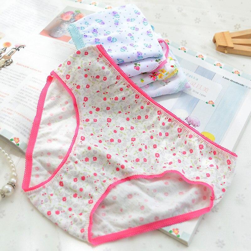 12Pc/Lot  Baby Girls Underwear Cotton Panties Kids Short Briefs Children Underpants 2-12Y 2
