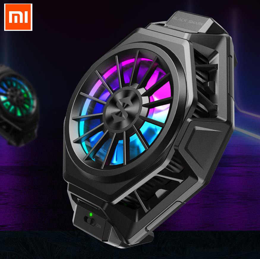 BR20 Asli Xiaomi Black Shark 3 Pro 2 Pro Menyenangkan Cooler Pendingin Cair Fan Sekitar 10 Pro ROG Ponsel iqoo Neo Pro 3 Red Magic LED
