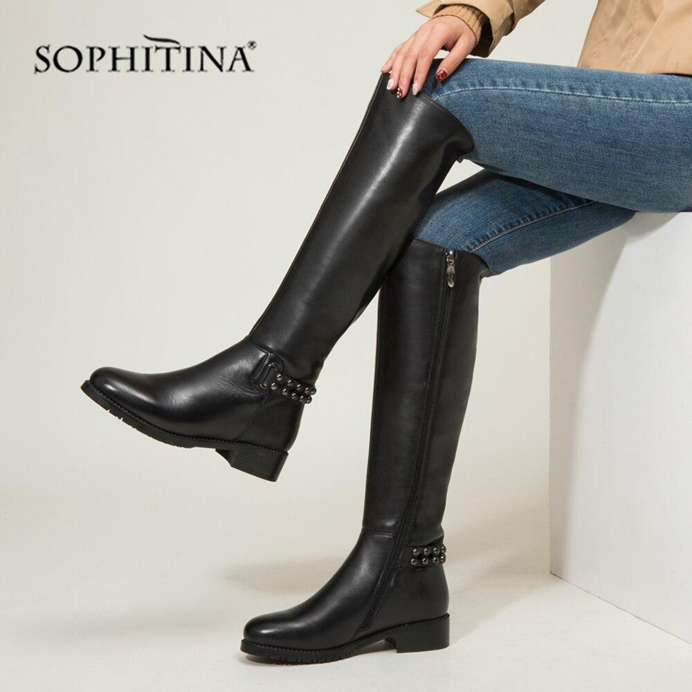 SOPHITINA Fashion Ladies Boots High