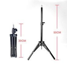 30 50cm Desktop Stativ Extensionable Tragbare Stativ für Handy Kamera Flash Licht Mikrofon Ständer Halter Youtube