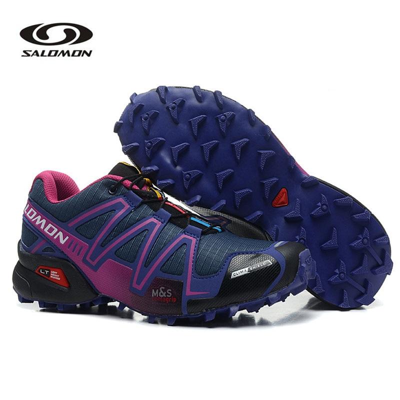 Salomon Speed Cross 3 III Women's Shoes Breathable Sneakers Female Sports Shoes 36-41