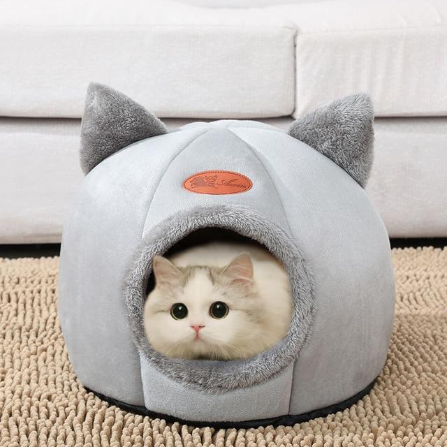 Super Cozy Kitty Cave Sleeper  5