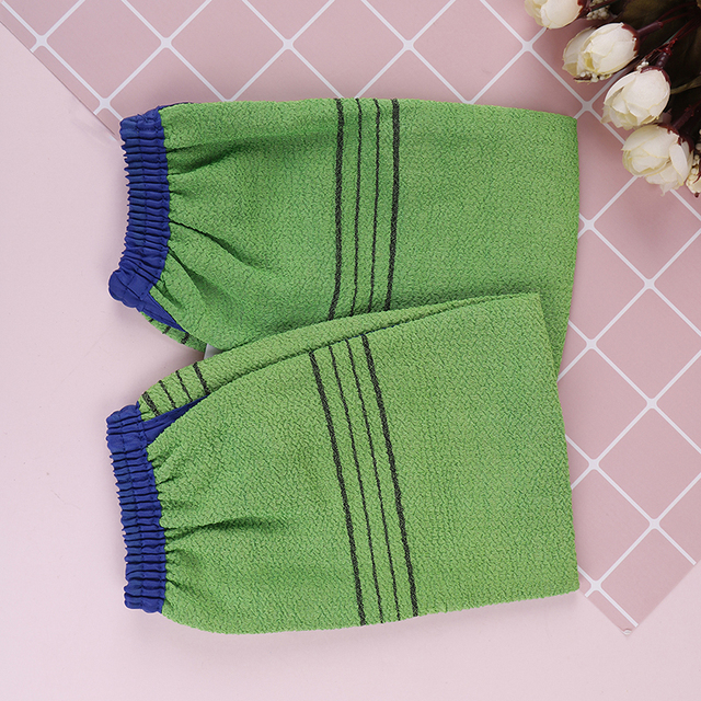 1 Pcs/Lot Bath Glove Korea Hammam Scrub Mitt Magic Peeling Glove Exfoliating Tan Removal Mitt Bath Brushes 1