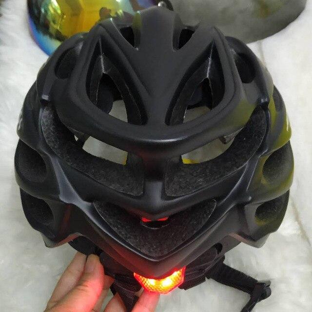 Cairbull ultraleve ciclismo capacete da bicicleta capacete in-mold com viseira mtb estrada de corrida capacete da bicicleta equitação tampa segura casco ciclismo 6