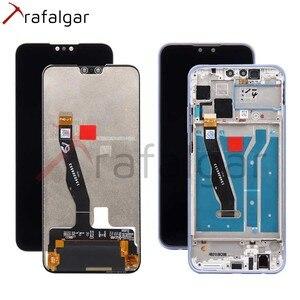 Image 1 - Trafalgar Display Voor Huawei Y9 2019 Lcd Display JKM LX1 LX2 LX3 Digitizer Touch Screen Voor Huawei Y9 2019 Display Met frame
