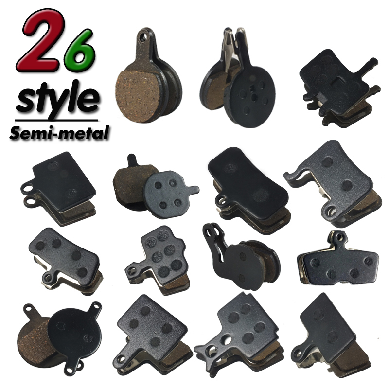 2 pair Bicycle Bike Disc Brake Pad For <font><b>SHIMANO</b></font> SRAM AVID ZOOM Hayes magura formula M395 985 975 <font><b>355</b></font> 985 775 IOX RO Accessories image