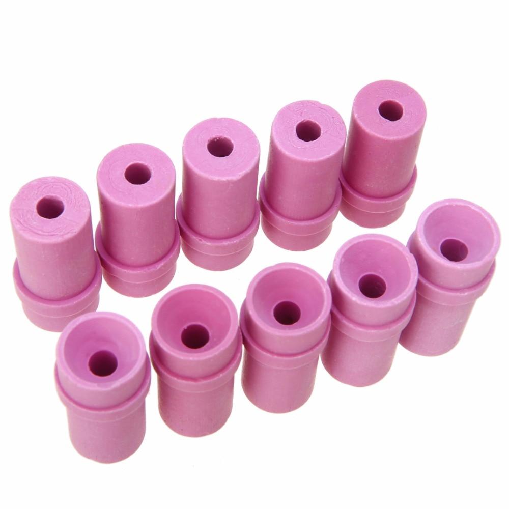 HOLDWIN Free Shipping 10x Sandblaster  Siphon SandBlasting Gun Ceramic Nozzle Tips 3mm 4mm 5mm 6mm 7mm For Sand Blaster