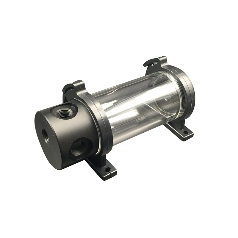 Акриловый цилиндрический резервуар, резервуар для воды G1/4 50 мм x 140 мм для ПК, высококачественный комплект для охлаждения жидкостью для комп...