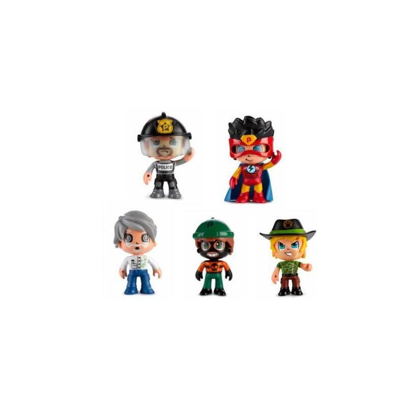 Pin And Pon Action Pack 5 Figures Toy Store