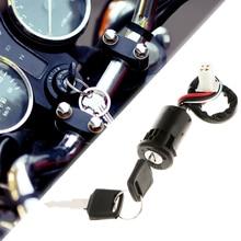 Interruptor de encendido de cuatro teclas ATV, 4 cables, 50, 70, 90, 110, 125, 150, 200, 250CC, TaoTao SUNL