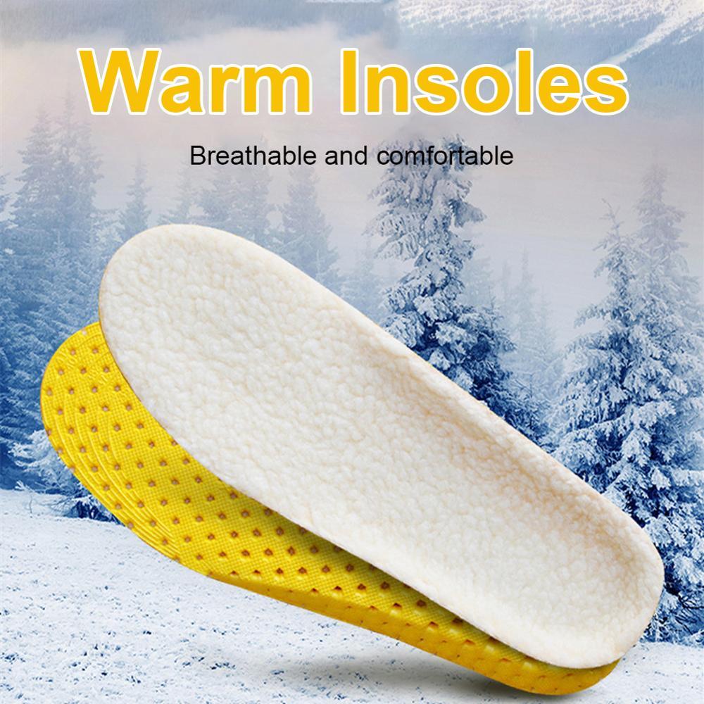 Сохраняет тепло с подогревом кашемир термобелье стельки утолщение мягкость воздухопроницаемость зима спорт обувь вставка для мужчины женщины ботинки подкладка подошва