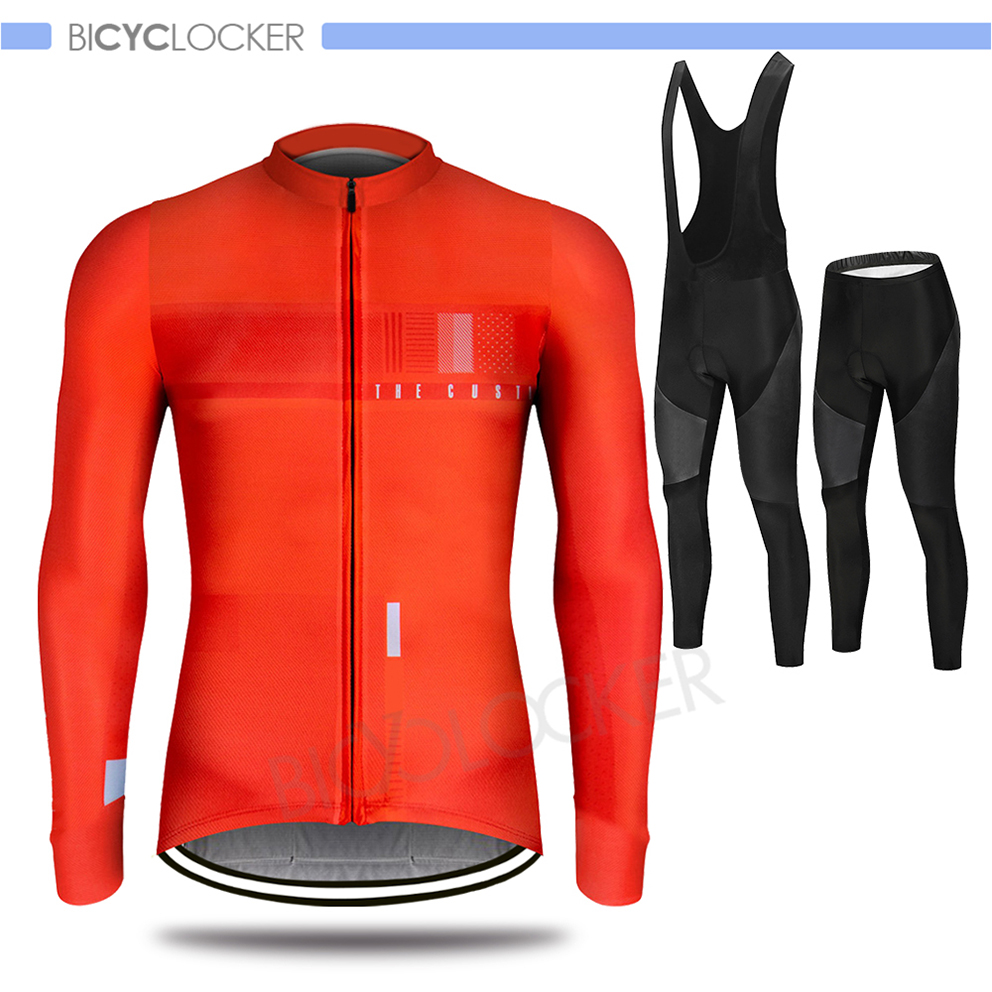 Cycling Clothes Men Cycle Clothing Jersey Set Long Sleeve Spring Autumn Road Bike Wear Riding Breathable Ropa Ciclismo title=