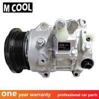 New 7SEH17C Car auto ac compressor for toyota venza highlander 2.7 a/c compressor pump with clutch repair kit
