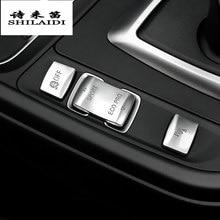 Auto Styling Zentrale Handbremse Auto H Taste Dekorative Abdeckung Aufkleber Trim Für BMW F30 F34 F32 3 4 serie GT innen Zubehör