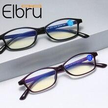 Elbru Ultra-light Reading Glasses Presbyopic Glasses Anti Blue Light Eyewear For Men Women +1.0 +1.5 +2.0 +2.5 +3.0 +3.5 +4.0