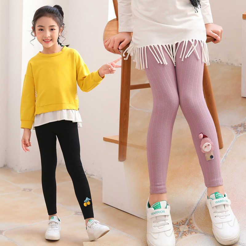 Delgada Polainas Para Ninas Elasticidad Pantalones Primavera Otono Nina Pantalones Skinny 3 14 Anos Bebe Leggins Para Ninos Ropa De Los Adolescentes Pantalones Aliexpress