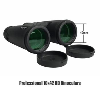 10X42 Binoculars Waterproof Professional Camping Hunting Telescope Zoom Bak4 Prism Optics with Binoculars Strap 3