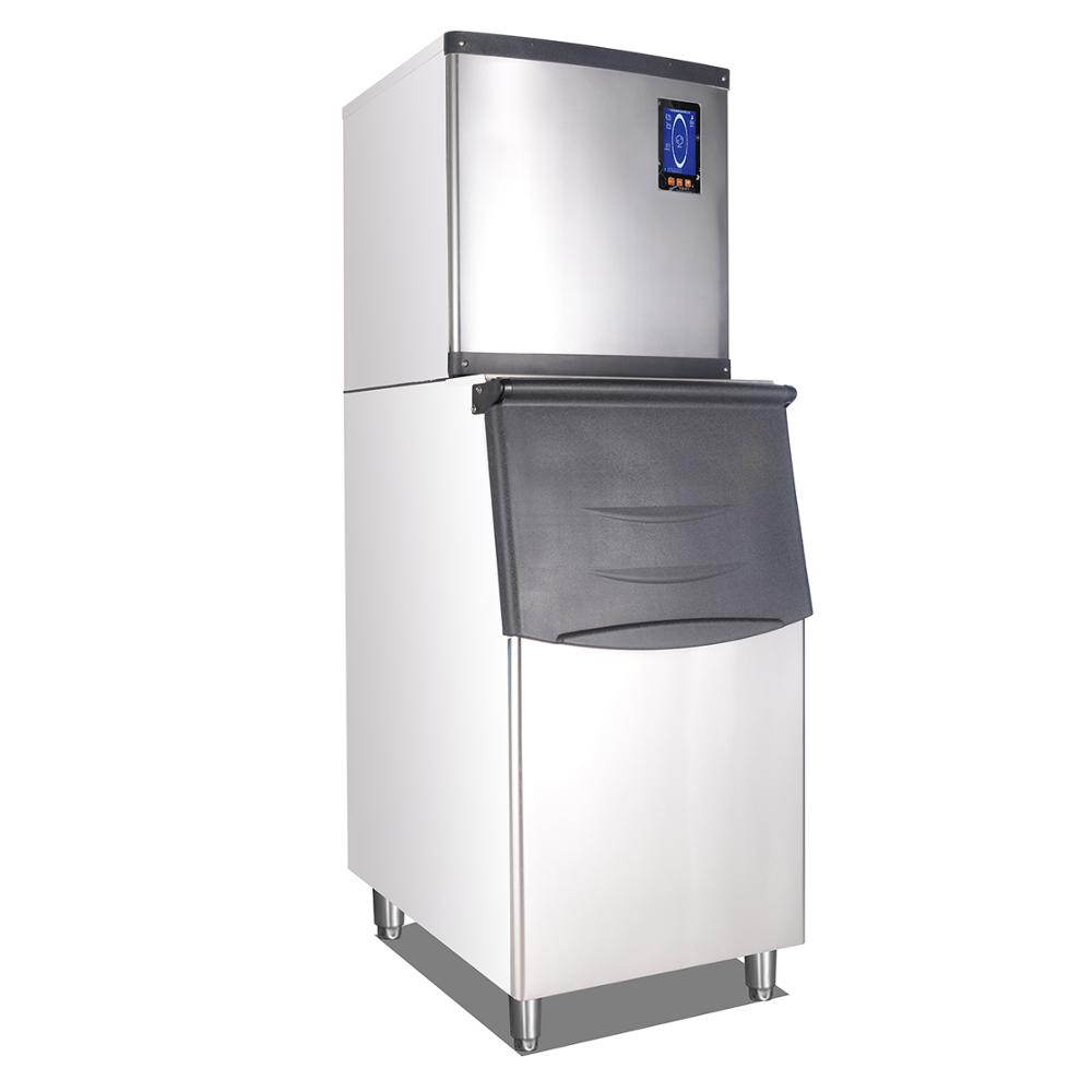 Sf180 Industrial Ice Maker Ice Cube Making Machine For Supermarket & Hotel