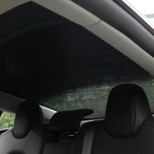 Model3 Sunshade Car Sun Visor Rear Front Sun Shade For Tesla Model 3 2021 Accessories Roof Skylight Shades Protector