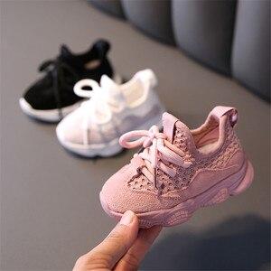 Image 2 - DIMI 2020 automne bébé fille garçon enfant en bas âge chaussures infantile chaussures de course décontractées fond doux confortable respirant enfants Sneaker