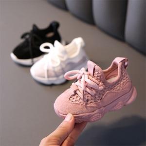 Image 2 - Dimi 2020 秋ベビー少女少年の幼児の靴幼児カジュアルランニングシューズソフトボトム快適な通気性の子供スニーカー