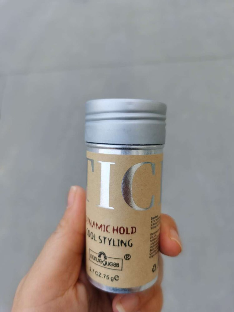 Dynamic Hold Cool Styling Hair Wax Treatment for Refreshing Broken Hair photo review