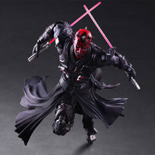 Star Wars: The Force Awakens Darth Maul 26cm Anime Figure Doll Collections Children Toys Gift cool eye led light storm trooper star wars the force awakens clone troopers stormtrooper joint movable pvc action figure toys