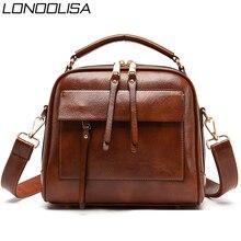 Véritable cuir de luxe sacs à main femmes sacs concepteur Vintage dames Double couche intérieure sac à bandoulière sacs à bandoulière pour les femmes 2020