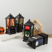 Halloween Pumpkin Light Creative Lamp Spider Home Decor Bat Pumpkin Lamp Door Room Decoration LED Lantern Party Home Props(China)